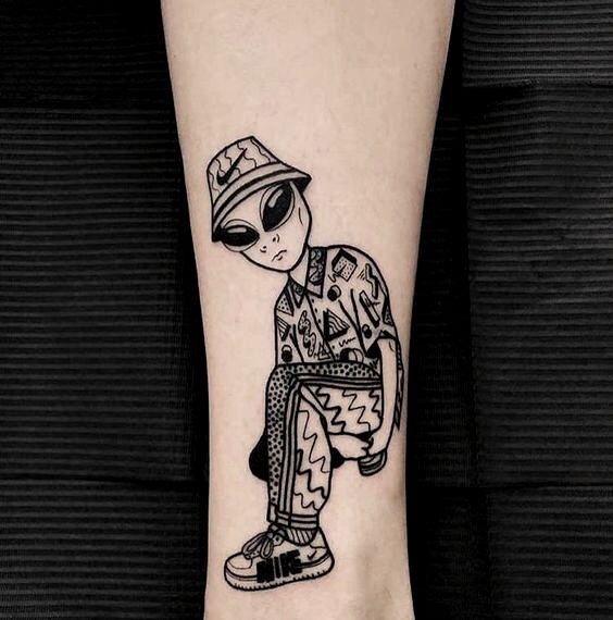 Alien Tattoo 13