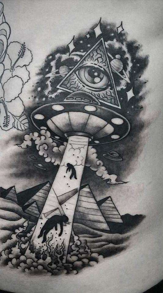 Alien Tattoo 23