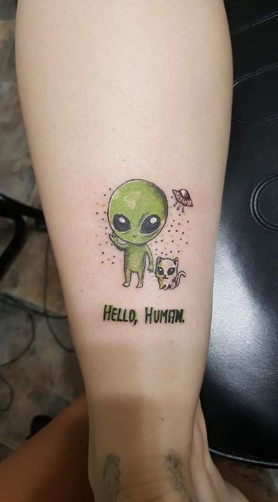 Alien Tattoo 29