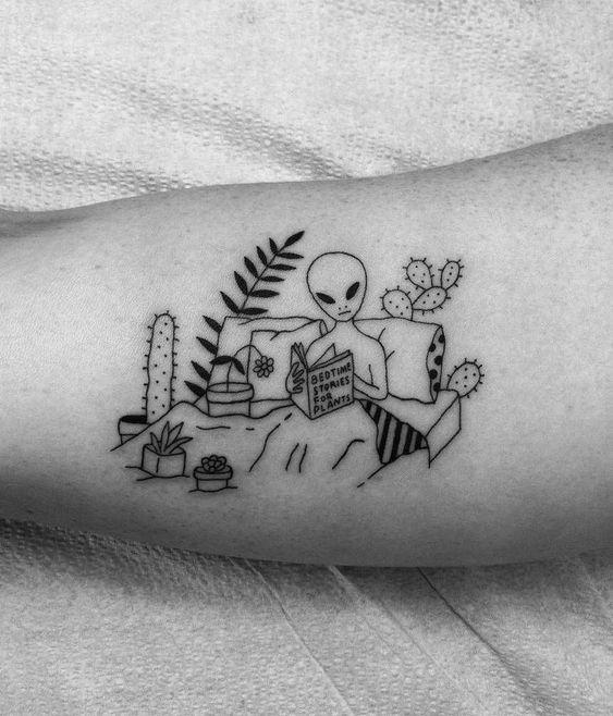 Alien Tattoo 33