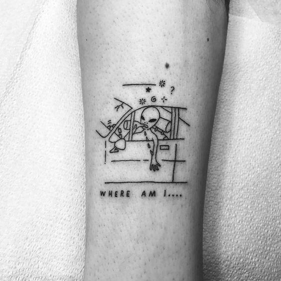Alien Tattoo 34