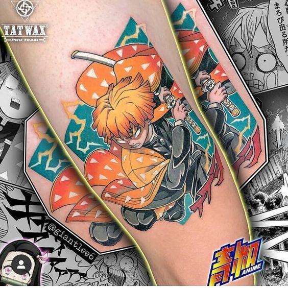 Demon Slayer Tattoo 20