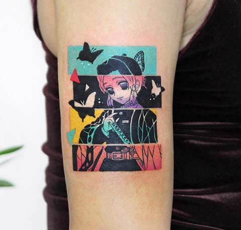 Demon Slayer Tattoo 25