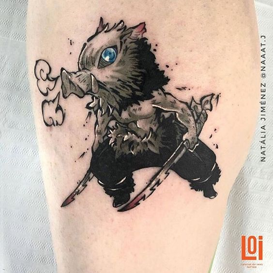 Demon Slayer Tattoo 27