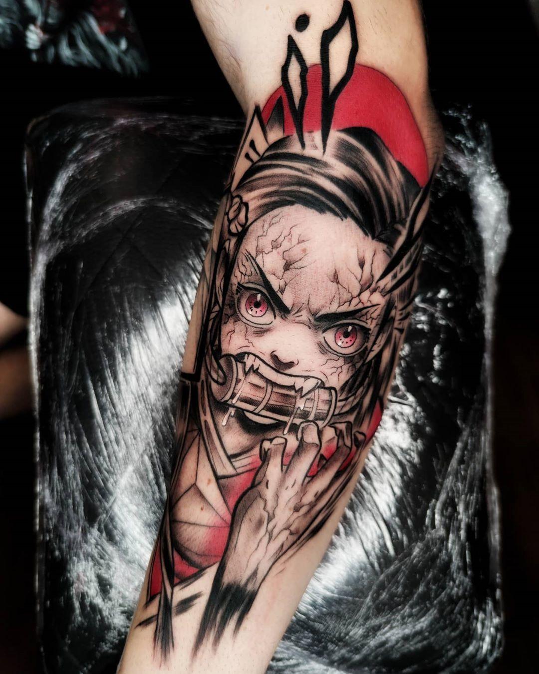 Demon Slayer Tattoo 48