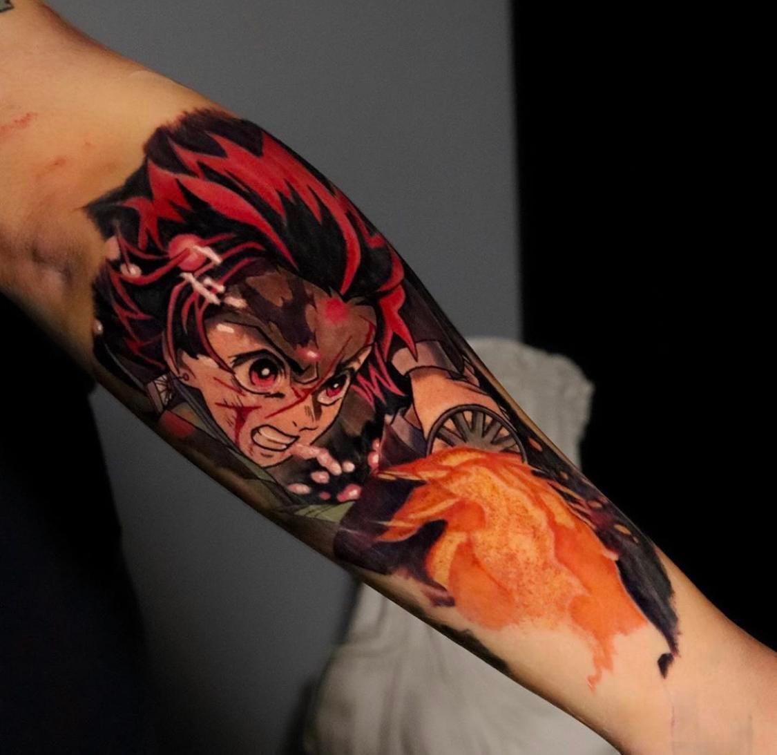 Demon Slayer Tattoo 49
