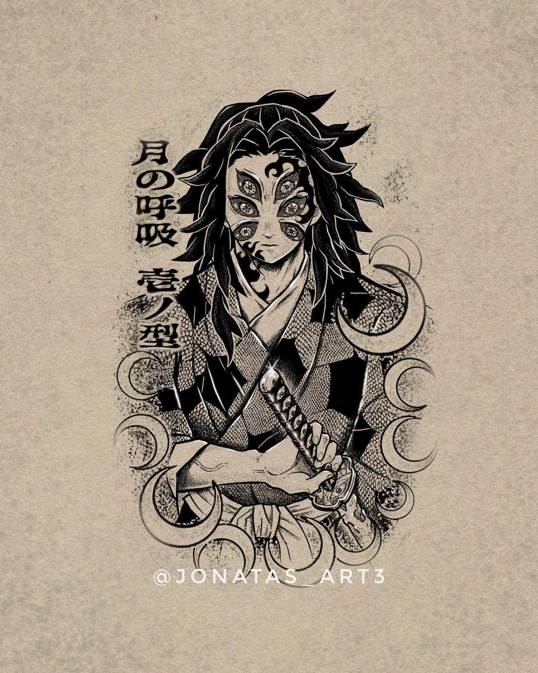 Demon Slayer Tattoo 5