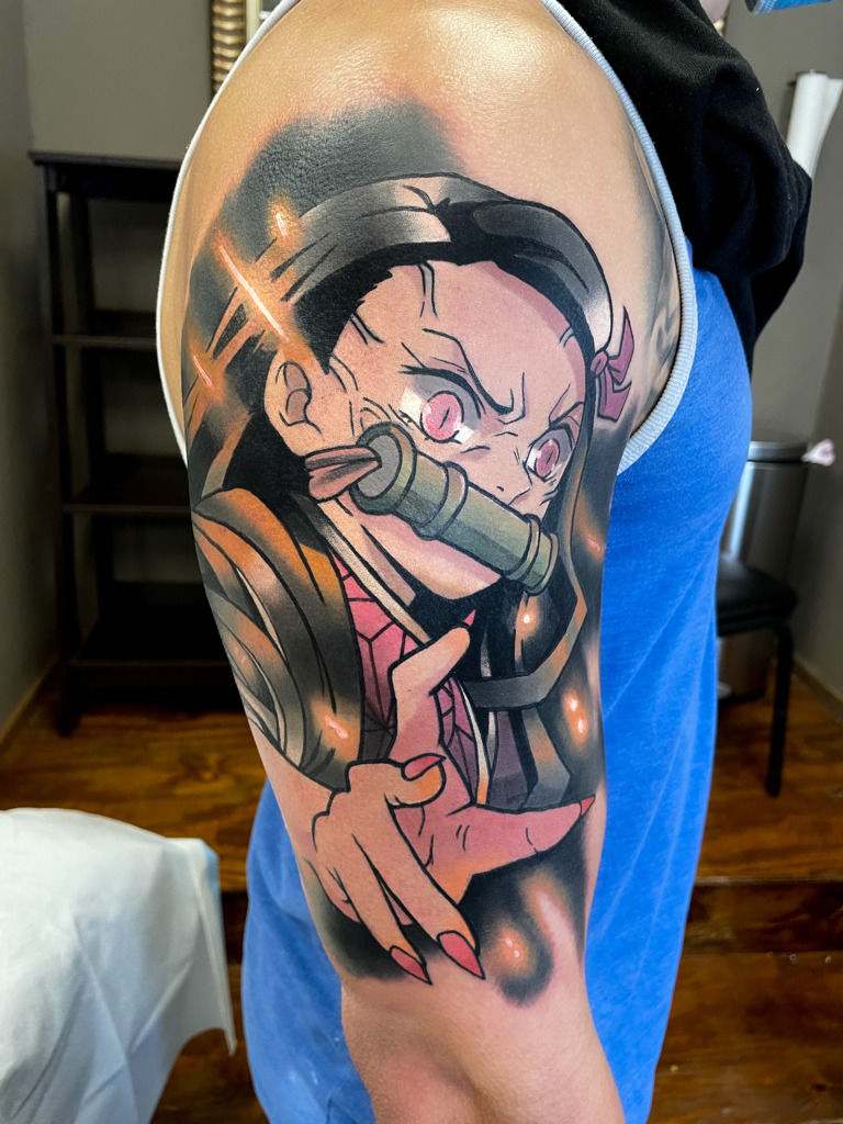 Demon Slayer Tattoo 52