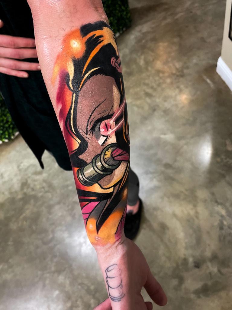 Demon Slayer Tattoo 55