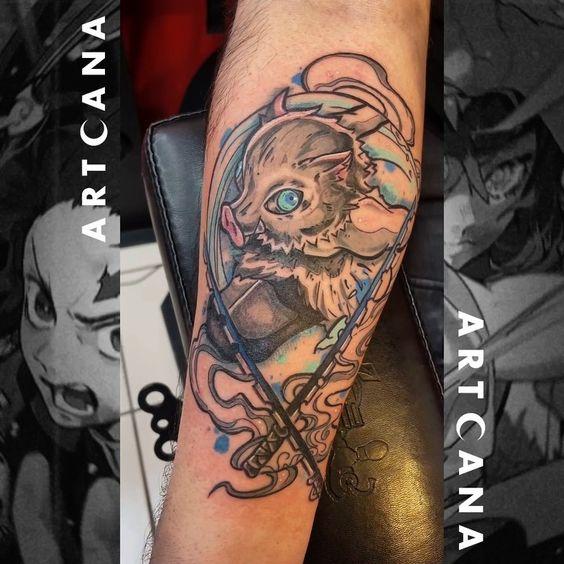 Demon Slayer Tattoo 60