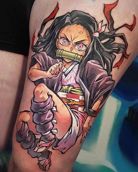 Demon Slayer Tattoo 62