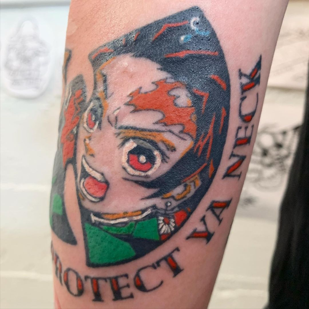 Demon Slayer Tattoo 7