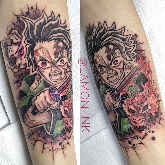 Demon Slayer Tattoo 85