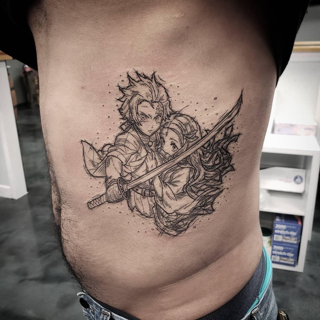 Demon Slayer Tattoo 92