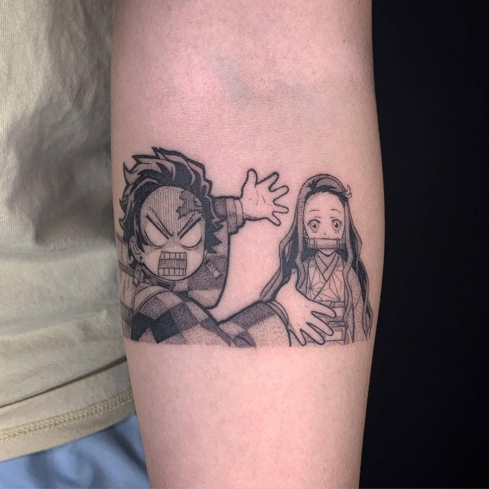 Demon Slayer Tattoo 93