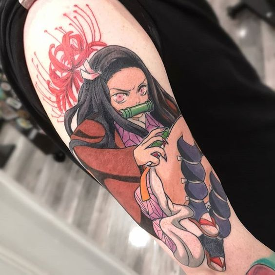 Demon Slayer Tattoo 97