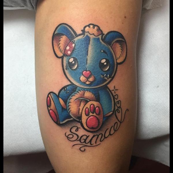 Teddy Bear Tattoo 11