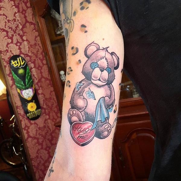 Teddy Bear Tattoo 13
