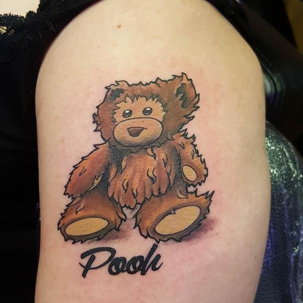 Teddy Bear Tattoo 14