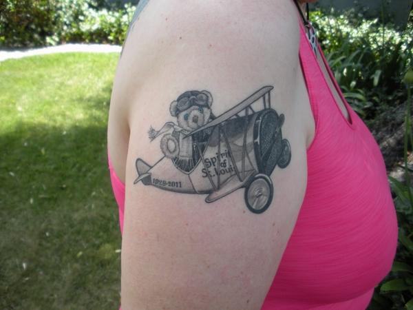 Teddy Bear Tattoo 15