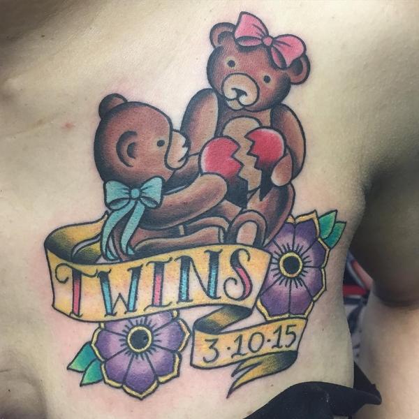 Teddy Bear Tattoo 18