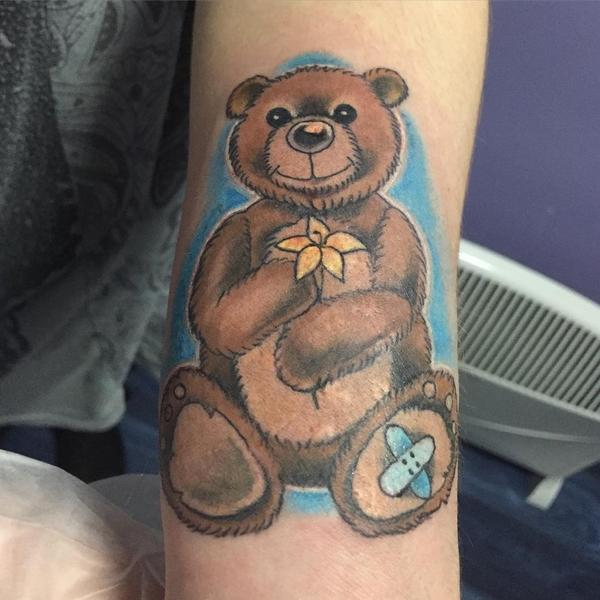 Teddy Bear Tattoo 19