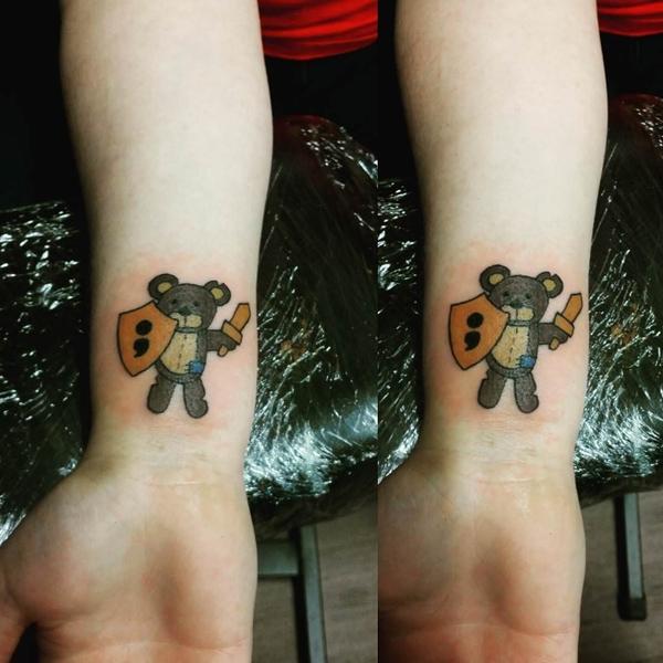 Teddy Bear Tattoo 21