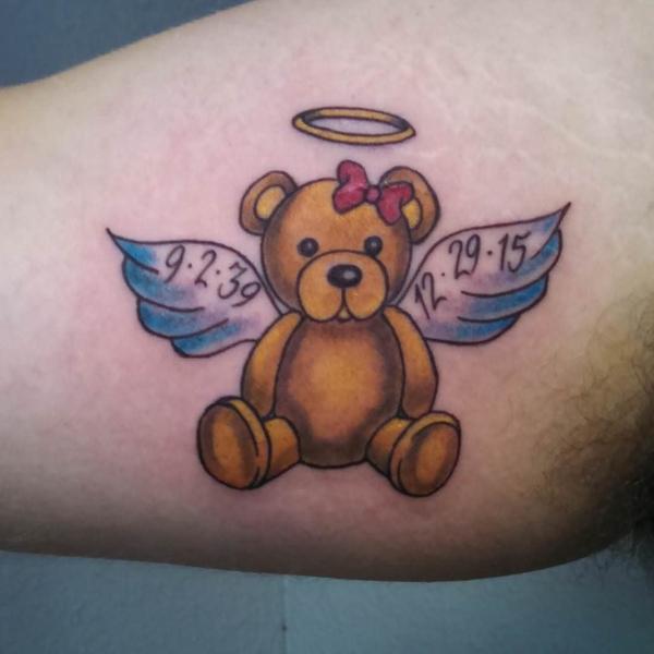 Teddy Bear Tattoo 24