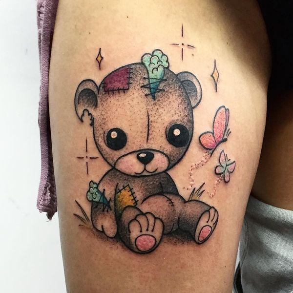 Teddy Bear Tattoo 26
