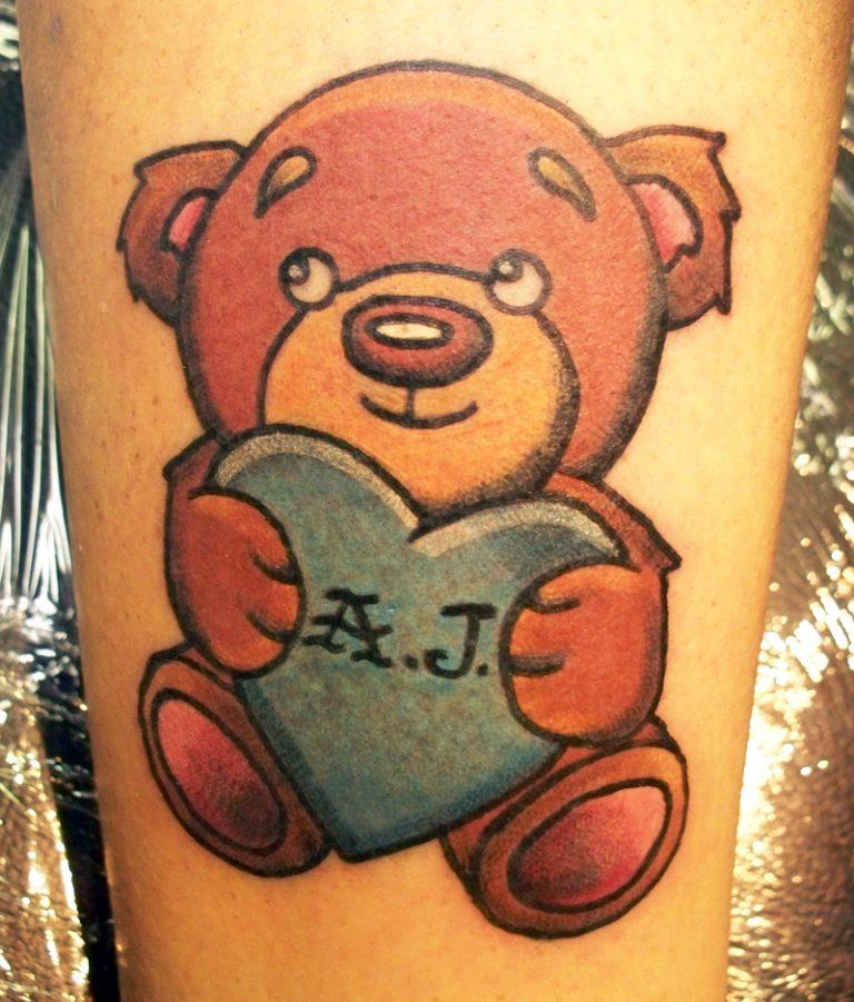 Teddy Bear Tattoo 27