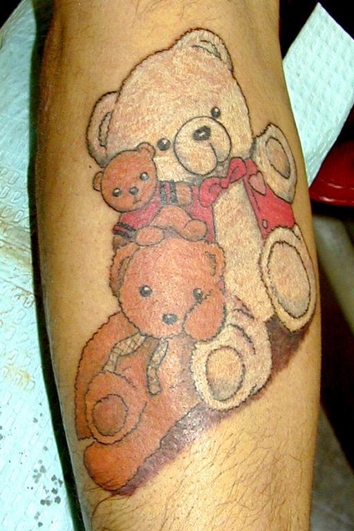Teddy Bear Tattoo 28