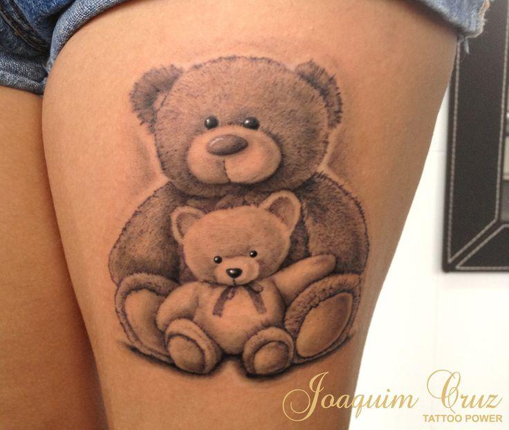 Teddy Bear Tattoo 29