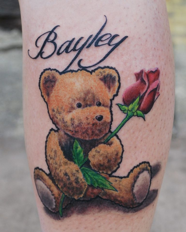 Teddy Bear Tattoo 31