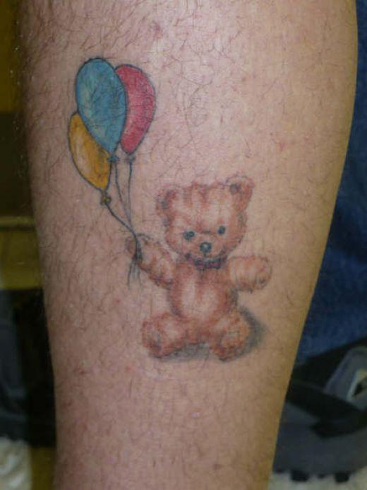 Teddy Bear Tattoo 34