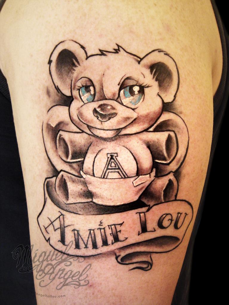 Teddy Bear Tattoo 43