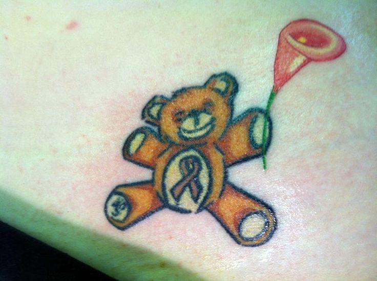 Teddy Bear Tattoo 44