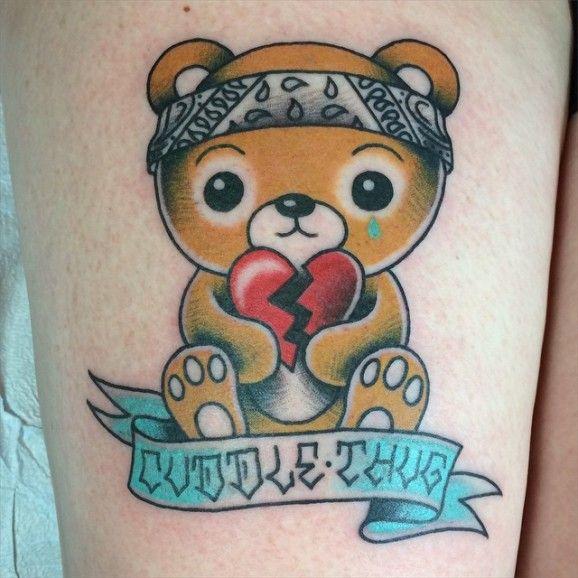 Teddy Bear Tattoo 45