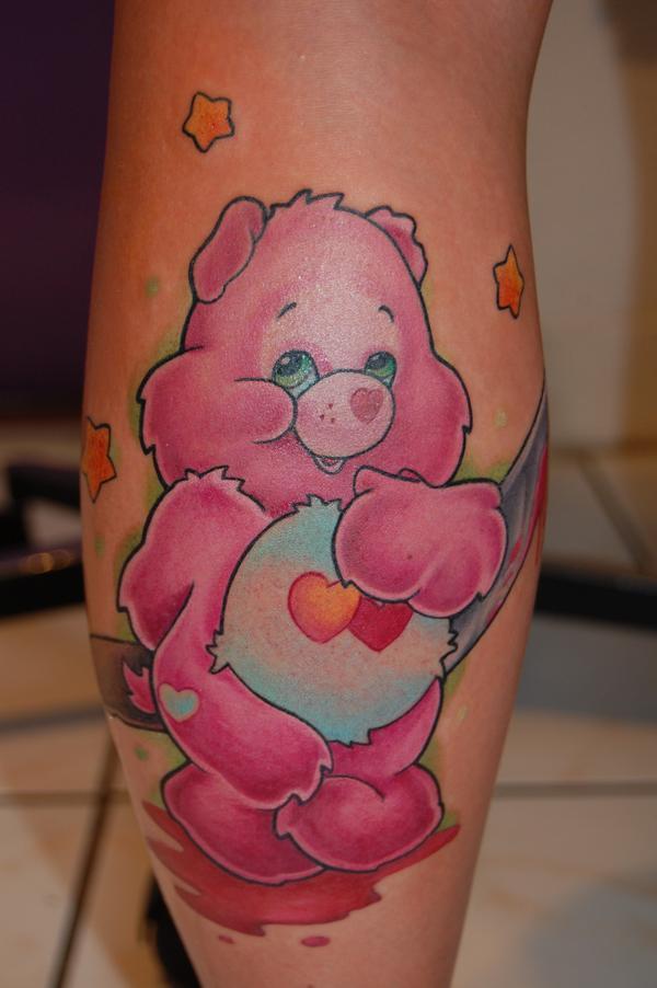 Teddy Bear Tattoo 46