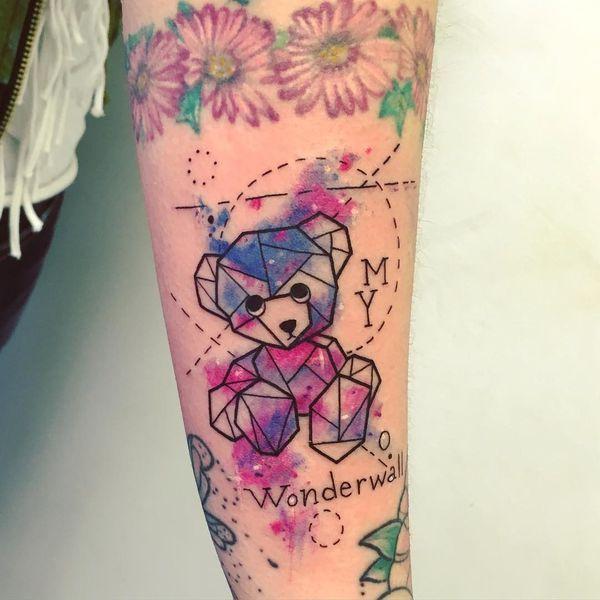 Teddy Bear Tattoo 48