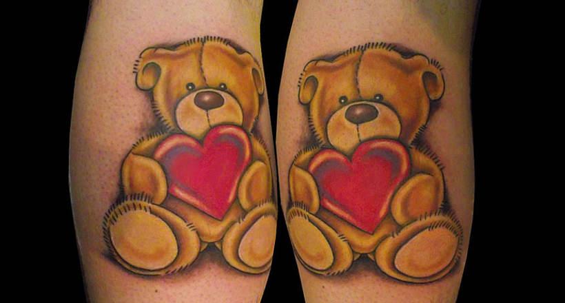Teddy Bear Tattoo 5