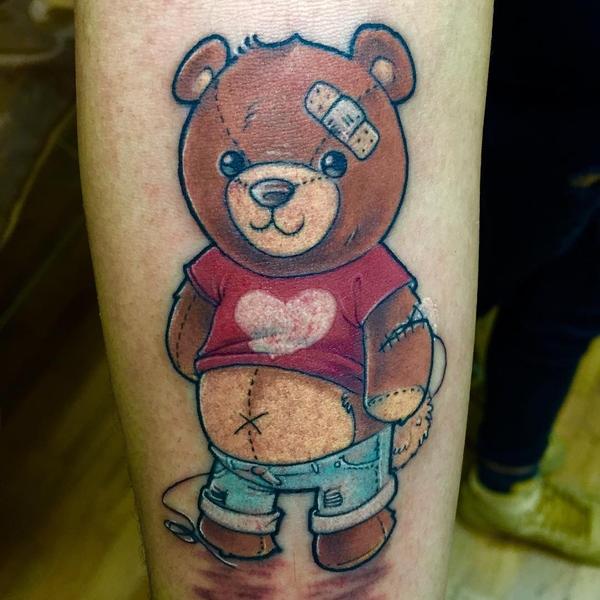 Teddy Bear Tattoo 6