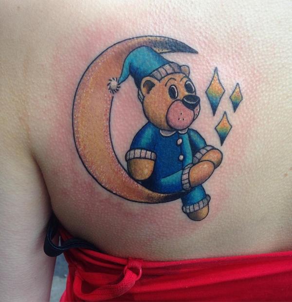 Teddy Bear Tattoo 7