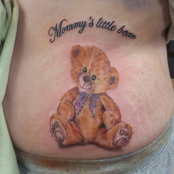 Teddy Bear Tattoo 8