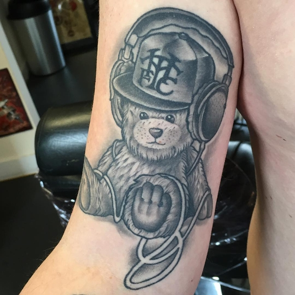 Teddy Bear Tattoo 9